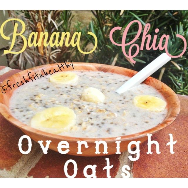 Banana Chia Overnight Oats2