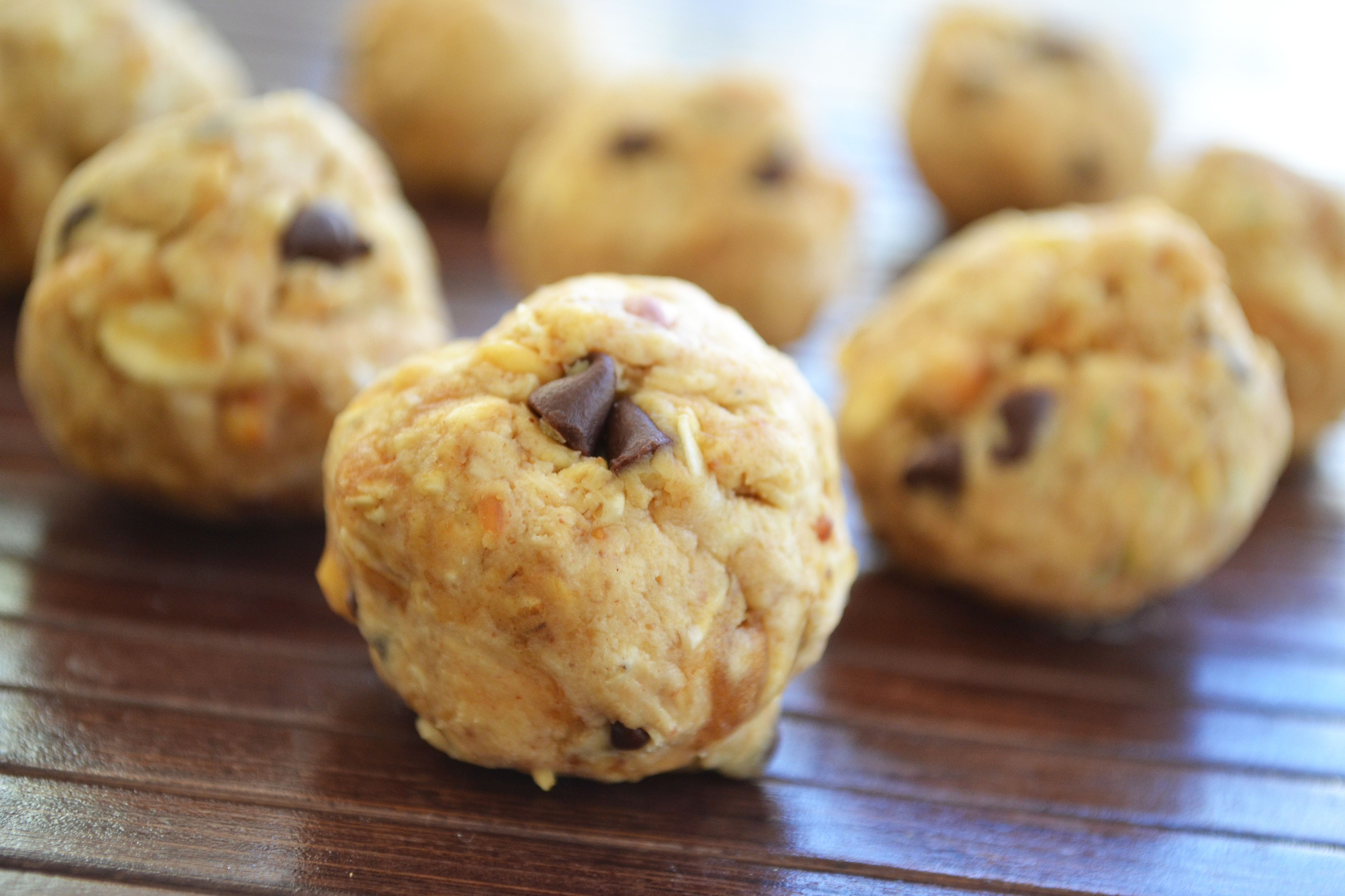 Fresh Fit N Healthy – No Bake Peanut Butter Balls